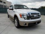 2011 White Platinum Metallic Tri-Coat Ford F150 King Ranch SuperCrew #51189027
