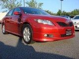 2008 Barcelona Red Metallic Toyota Camry SE #51188761