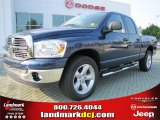 2007 Patriot Blue Pearl Dodge Ram 1500 SLT Quad Cab #51188892