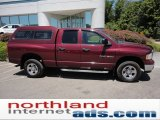 2003 Dark Garnet Red Pearl Dodge Ram 1500 SLT Quad Cab 4x4 #51188784