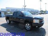 2009 Black Chevrolet Silverado 1500 LTZ Extended Cab 4x4 #51189370