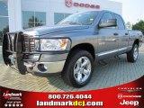 2008 Mineral Gray Metallic Dodge Ram 1500 Big Horn Edition Quad Cab 4x4 #51188897