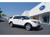 2011 White Platinum Tri-Coat Ford Explorer Limited #51188898