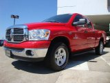 2008 Dodge Ram 1500 Flame Red