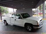 2004 Summit White Chevrolet Silverado 1500 LS Extended Cab #51189384