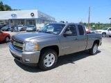 2008 Graystone Metallic Chevrolet Silverado 1500 LT Extended Cab 4x4 #51189220
