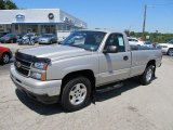 2006 Silver Birch Metallic Chevrolet Silverado 1500 LT Regular Cab 4x4 #51189224