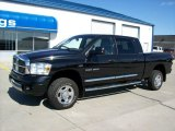 2007 Black Dodge Ram 1500 Laramie Mega Cab 4x4 #51189231