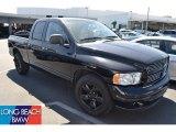 2003 Black Dodge Ram 1500 SLT Quad Cab #51189059