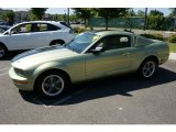 2005 Legend Lime Metallic Ford Mustang V6 Premium Coupe #51189070