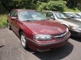 2001 Dark Carmine Red Metallic Chevrolet Impala LS #51188929