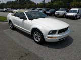 2006 Performance White Ford Mustang V6 Premium Convertible #51189081