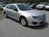 2010 Brilliant Silver Metallic Ford Fusion S #51189084