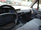1996 Ford F150 XLT Regular Cab Grey Interior