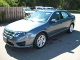 2011 Steel Blue Metallic Ford Fusion SE #51189273