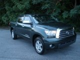 2008 Timberland Green Mica Toyota Tundra Limited CrewMax 4x4 #51242343
