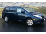 2011 South Pacific Blue Pearl Toyota Sienna LE #51242033
