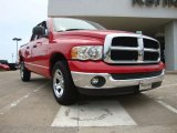 2005 Flame Red Dodge Ram 1500 SLT Quad Cab #51242276