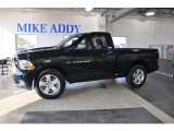 2011 Hunter Green Pearl Dodge Ram 1500 Express Regular Cab #51242199