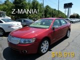 2008 Vivid Red Metallic Lincoln MKZ Sedan #51242141