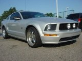 2005 Mineral Grey Metallic Ford Mustang GT Premium Coupe #51242222
