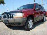 2002 Inferno Red Tinted Pearlcoat Jeep Grand Cherokee Laredo #51242078