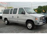 2008 Silver Metallic Ford E Series Van E350 Super Duty XLT Passenger #51242233
