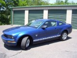 2009 Vista Blue Metallic Ford Mustang V6 Coupe #51242086