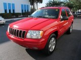 2001 Jeep Grand Cherokee Flame Red