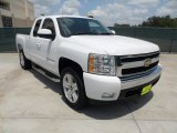 2008 Summit White Chevrolet Silverado 1500 LT Extended Cab #51272245
