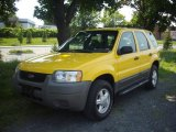 2001 Ford Escape Chrome Yellow Metallic