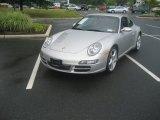 2007 Arctic Silver Metallic Porsche 911 Carrera Coupe #51289050