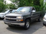 2000 Charcoal Gray Metallic Chevrolet Silverado 1500 LS Regular Cab 4x4 #51287520