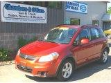 2007 Sunlight Copper Pearl Suzuki SX4 Convenience AWD #51288548