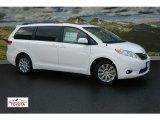 2011 Blizzard White Pearl Toyota Sienna XLE AWD #51287549