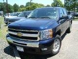2011 Imperial Blue Metallic Chevrolet Silverado 1500 LT Crew Cab 4x4 #51287586