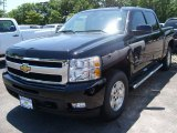 2011 Black Chevrolet Silverado 1500 LTZ Crew Cab 4x4 #51287587