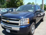2011 Imperial Blue Metallic Chevrolet Silverado 1500 LS Extended Cab #51287590
