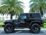 2011 Black Jeep Wrangler Sahara 4x4 #51288178