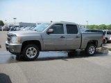 2008 Graystone Metallic Chevrolet Silverado 1500 LT Crew Cab #51289714