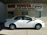 2011 Super White Toyota Corolla LE #51288195