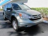 2011 Opal Sage Metallic Honda CR-V EX #51287664