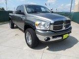 2008 Mineral Gray Metallic Dodge Ram 3500 Lone Star Quad Cab 4x4 #51288600