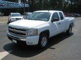 2011 Summit White Chevrolet Silverado 1500 LT Extended Cab #51289171