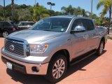 2010 Silver Sky Metallic Toyota Tundra Limited CrewMax 4x4 #51288240