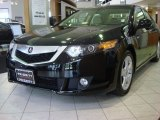 2010 Crystal Black Pearl Acura TSX Sedan #51287709