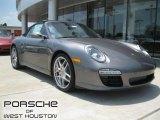 2012 Meteor Grey Metallic Porsche 911 Carrera S Cabriolet #51288650