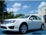 2011 White Platinum Tri-Coat Ford Fusion SE #51288301