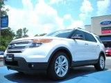 2011 White Platinum Tri-Coat Ford Explorer XLT #51288303