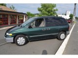 Forest Green Pearl Dodge Caravan in 1997